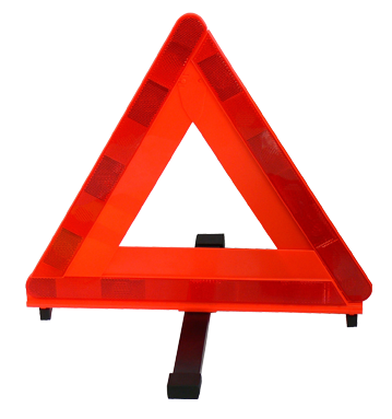三角停止表示板